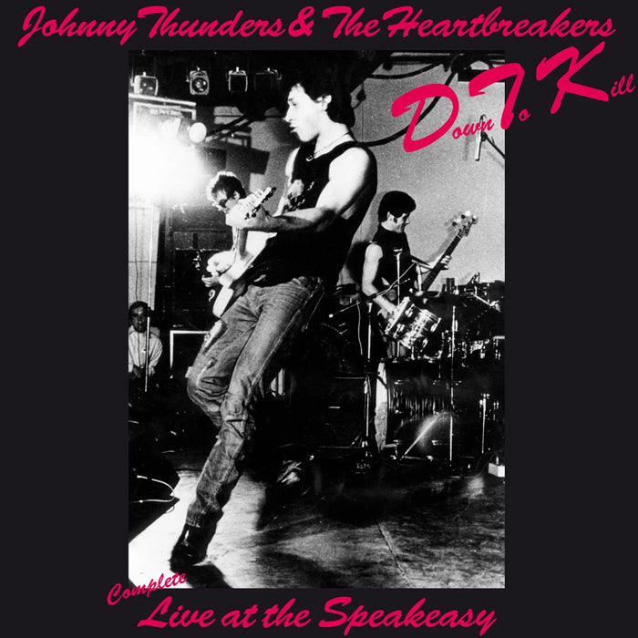 Johnny Thunders & The Heartbreakers ‎– D.T.K. Live Red/White Colour Vinyl Record Album, Vinyl, X-Records