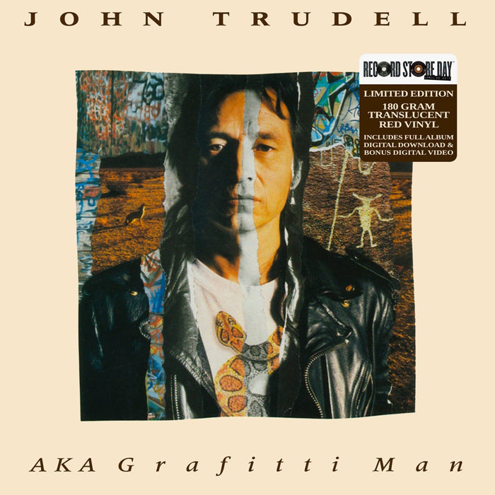John Trudell ‎– AKA Grafitti Man RSD 180g 2LP Colour Vinyl Record Album, Vinyl, X-Records