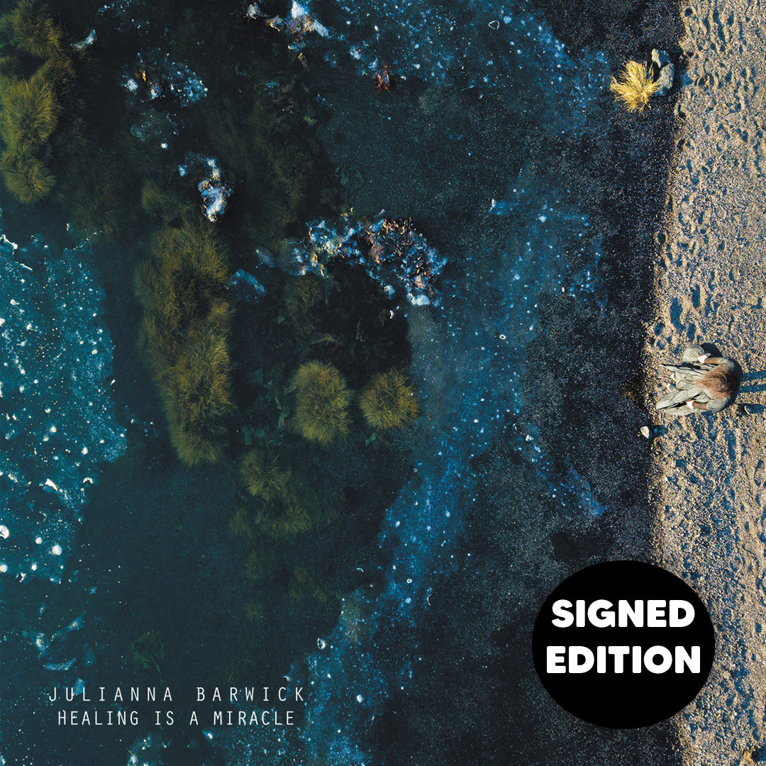 Julianna Barwick - Healing Is A Miracle Limited Edition Signed Vinyl Record Album