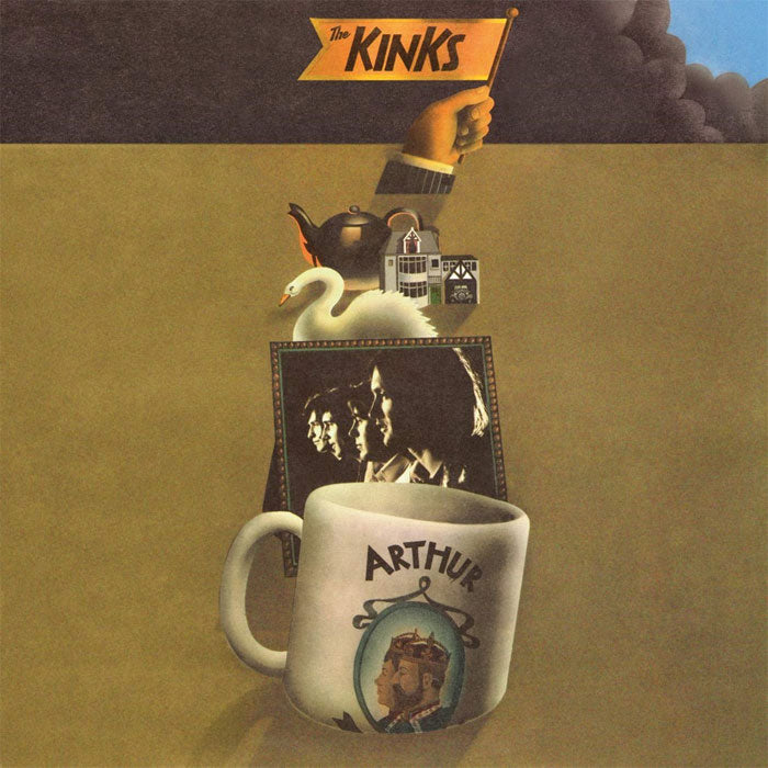 The Kinks	- Arthur or the Decline and Fall of the British Empire 2LP Vinyl Record Album, Vinyl, X-Records