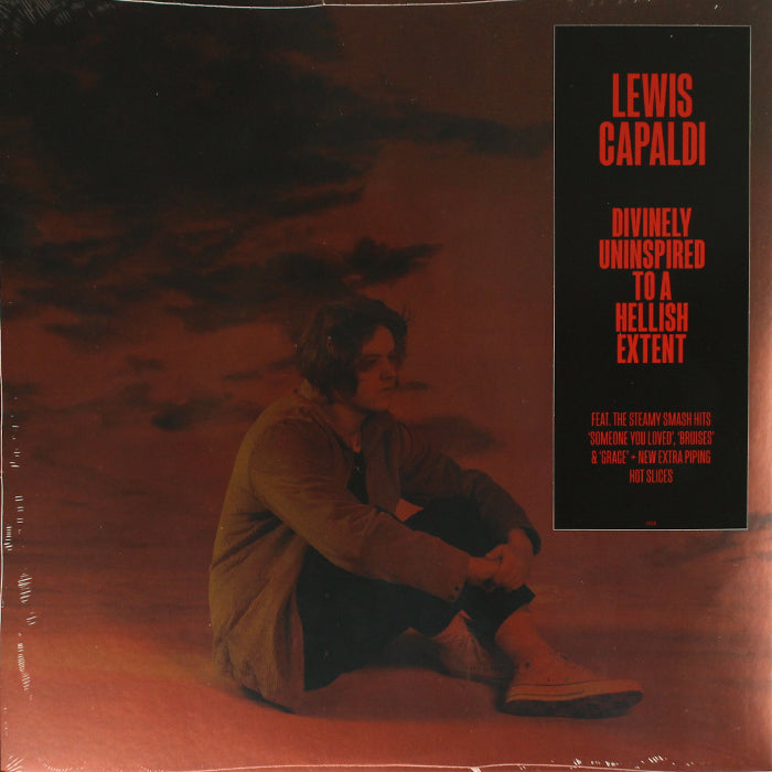 Lewis Capaldi ‎– Divinely Uninspired To A Hellish Extent Red Colour Vinyl Record