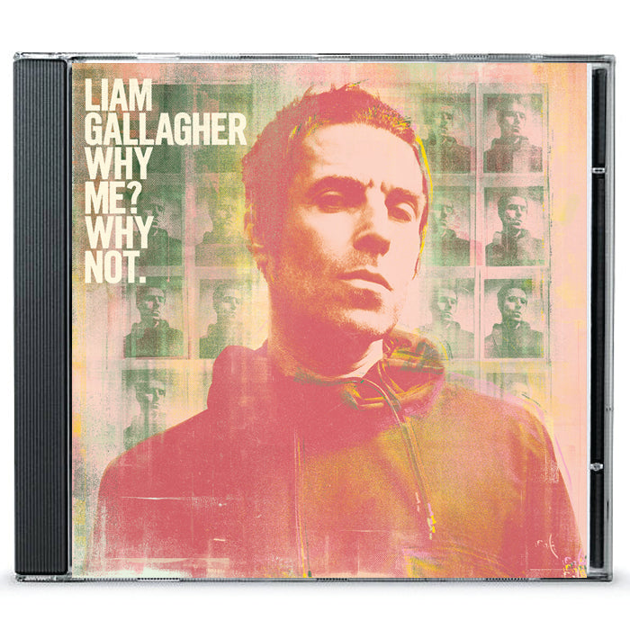 Liam Gallagher‎ – Why Me? Why not. Standard CD Album, CD, X-Records