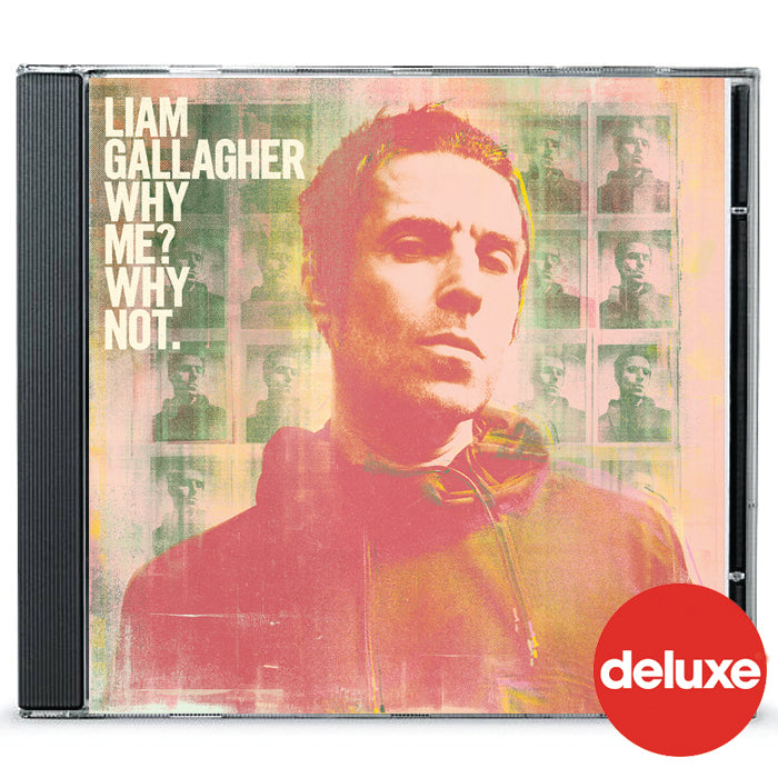 Liam Gallagher‎ – Why Me? Why not. Deluxe CD Album, Pre-order, X-Records