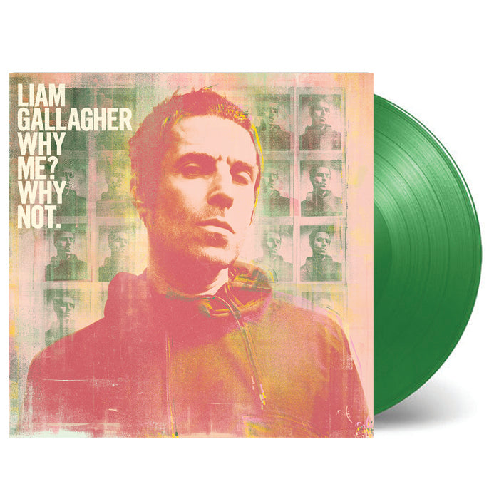 Liam Gallagher Why Me Why Not Limited Green Bottle