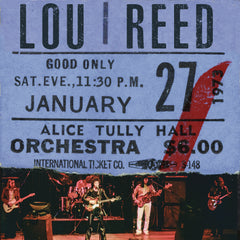Lou Reed - Live At Alice Tully Hall - Jan 27th 1973 (RSD 2020 Black Friday) 2LP Colour Vinyl Record Album