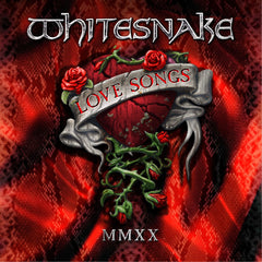 Whitesnake - Love Songs Limited Edition 2LP 180g Red Vinyl Colour Record