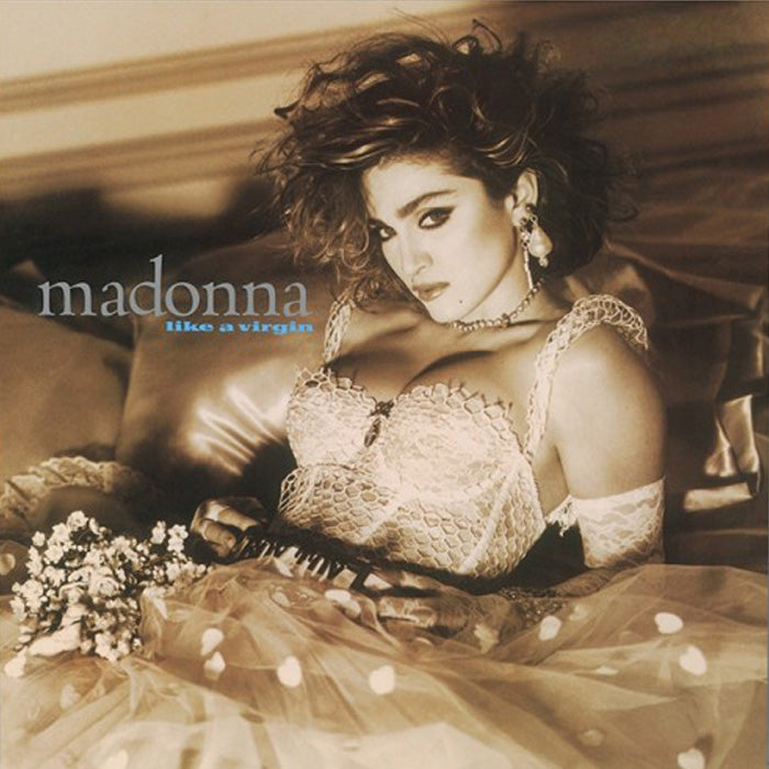 Madonna - Like A Virgin Crystal Clear Colour 180g Vinyl Record Album