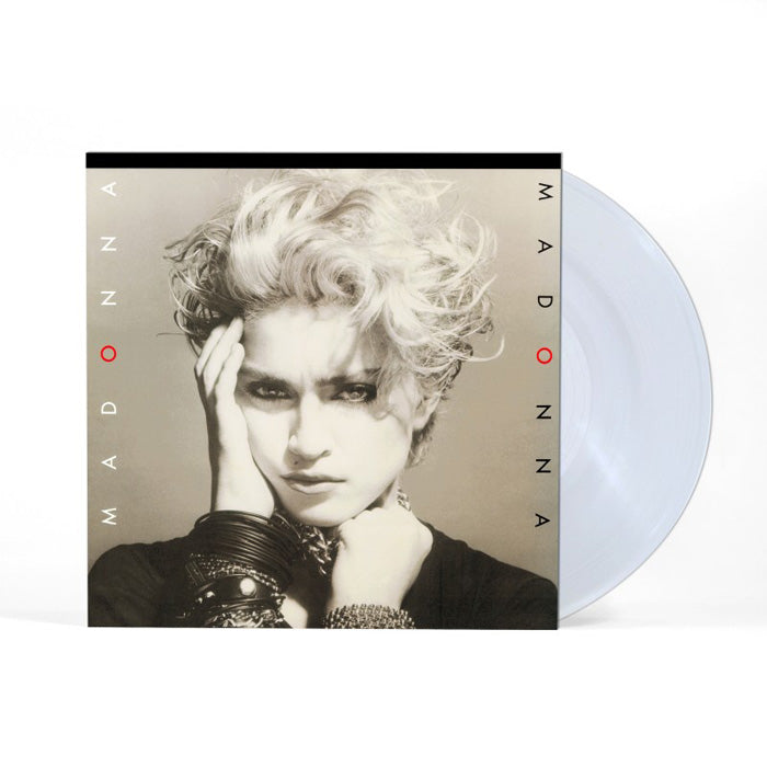Madonna	- Madonna Crystal Clear Colour 180g Vinyl Record Album