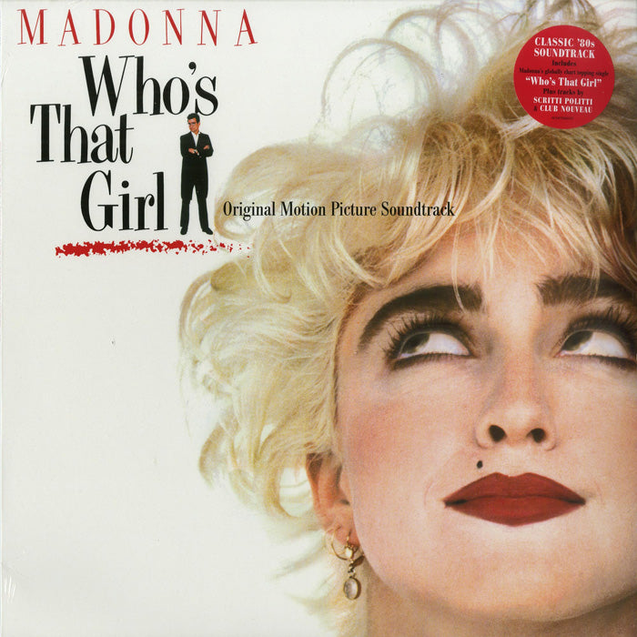 Madonna	 - Who's That Girl Soundtrack Crystal Clear Colour 180g Vinyl Record Album