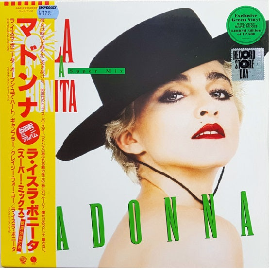 Madonna ‎– La Isla Bonita (Super Mix) RSD 2019 Limited Colour Vinyl Record