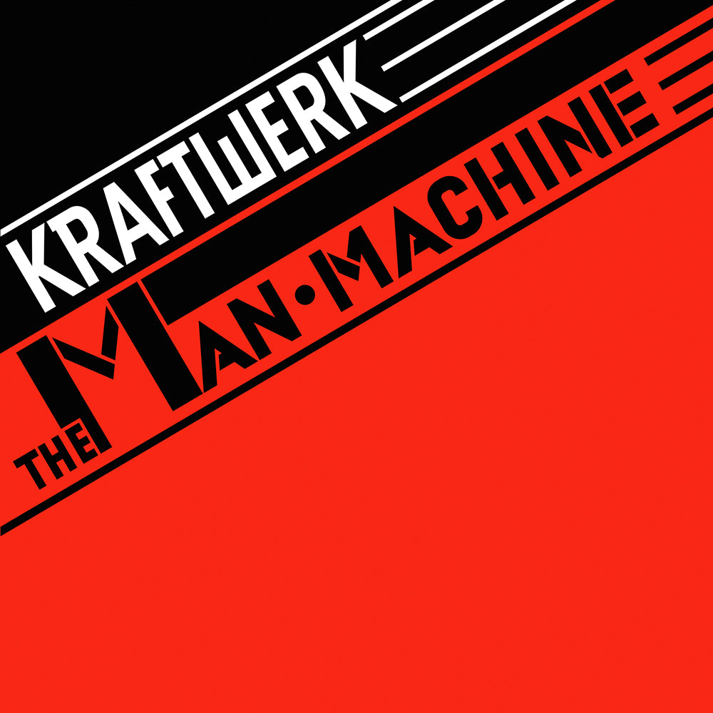 Kraftwerk - The Man-Machine Limited Edition Translucent Red Vinyl Record Album