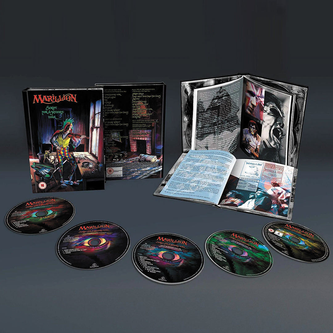 Marillion - Script For A Jester's Tear (Deluxe Edition) 4CD + Bluray Box Set