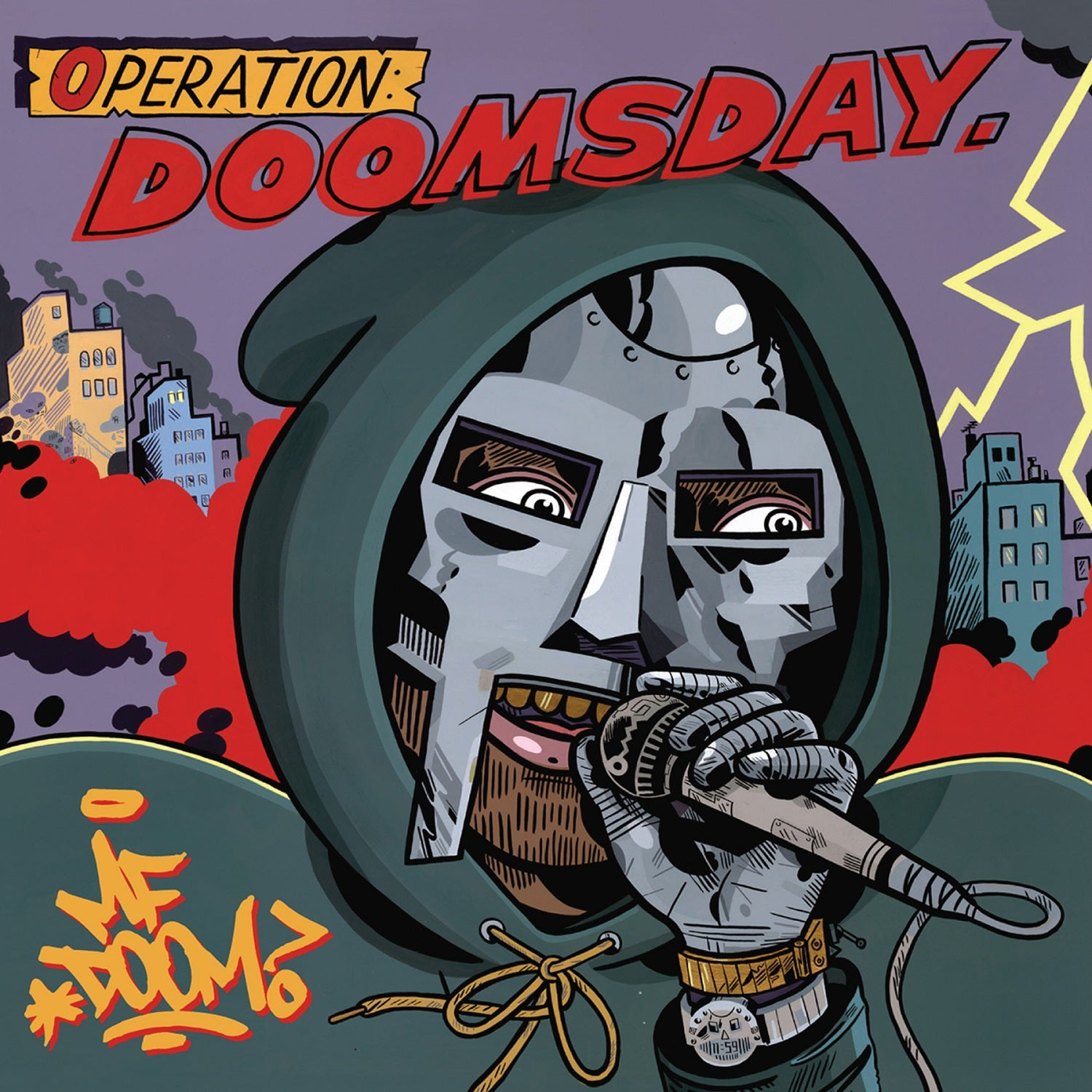 MF Doom - Operation: Doomsday (Alternative MC Sleeve) 2LP Vinyl Record Album