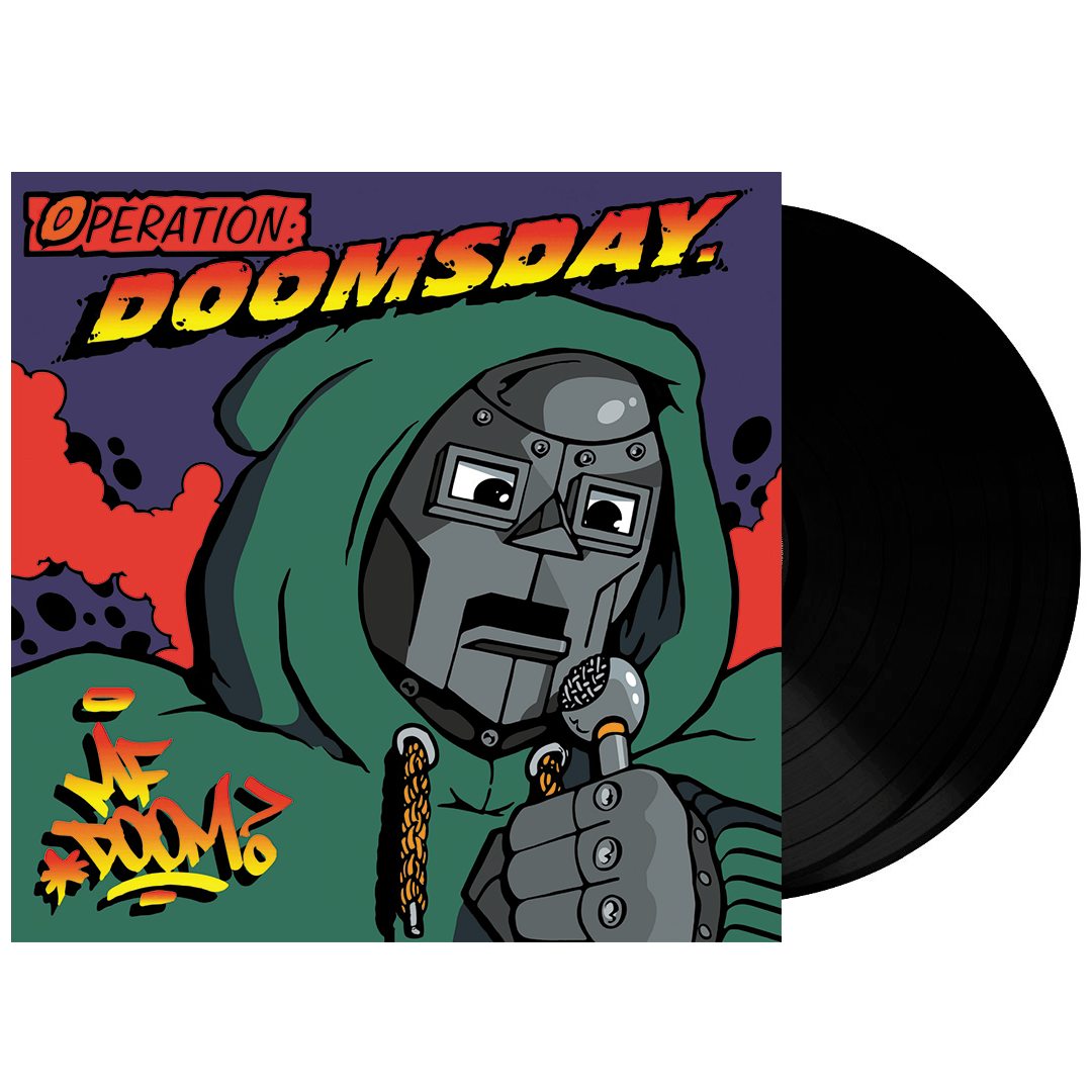 MF Doom - Operation: Doomsday 2LP Vinyl Record Album