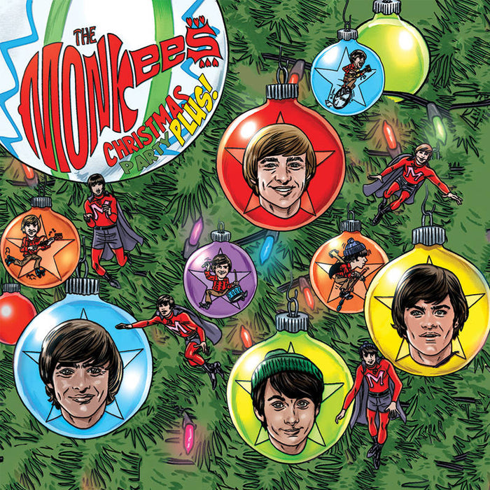 "The Monkees - Christmas Party Plus! (RSD Black Friday) 2 x 7"" Colour Vinyl Record"