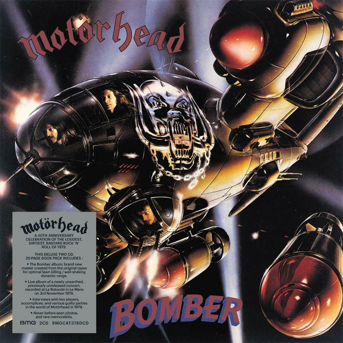 Motörhead - Bomber (40th Anniversary Edition) Mediabook 2CD Album, CD, X-Records