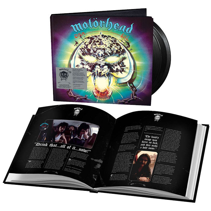 Motörhead - Overkill (40th Anniversary Edition) 180g 3LP Vinyl Record Album, Vinyl, X-Records