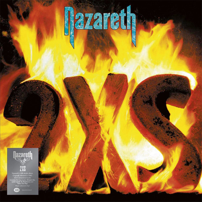 Nazareth	- 2XS Limited Edition Aqua Colour Vinyl Record Album, Vinyl, X-Records