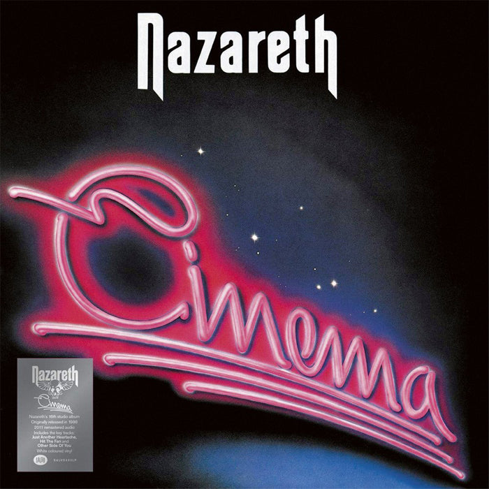 Nazareth - Cinema Limited Edition White Colour Vinyl Record Album, Vinyl, X-Records