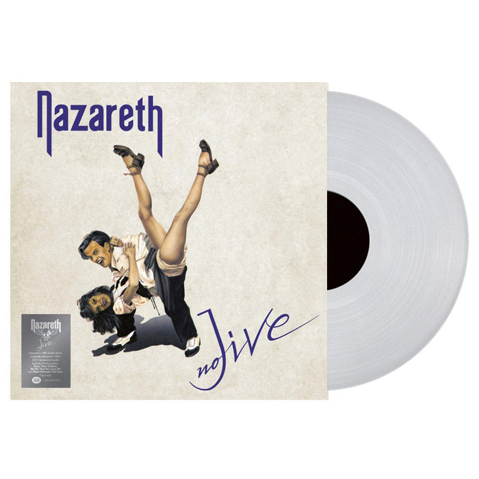 Nazareth	- No Jive Limited Edition Clear Colour Vinyl Record Album, Vinyl, X-Records