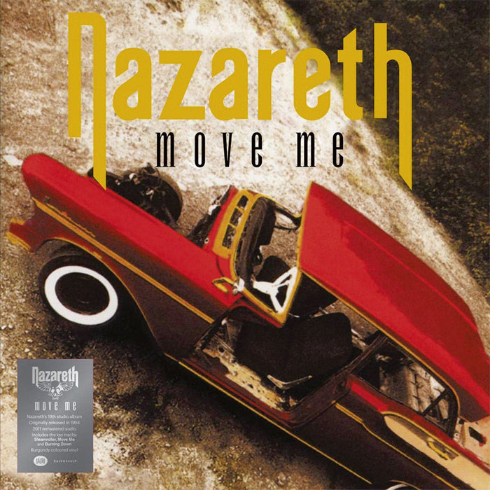 Nazareth - Move Me Limited Edition Burgundy Colour Vinyl Record Album, Vinyl, X-Records