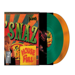 Nazareth - Snaz Limited Edition 2LP Orange Green Colour Vinyl Record Album, Vinyl, X-Records