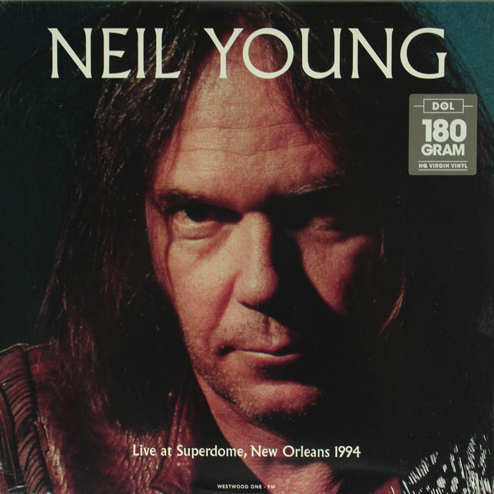 Neil Young ‎– Live at Superdome, New Orleans 1994 180g Vinyl Record