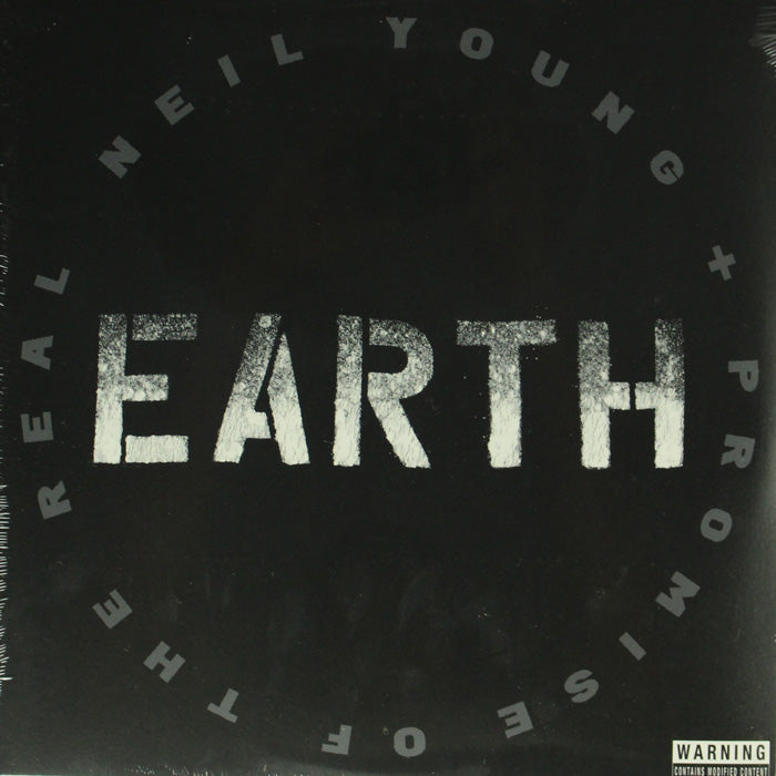 Neil Young & Promise Of The Real ‎– Earth 3LP Vinyl Record