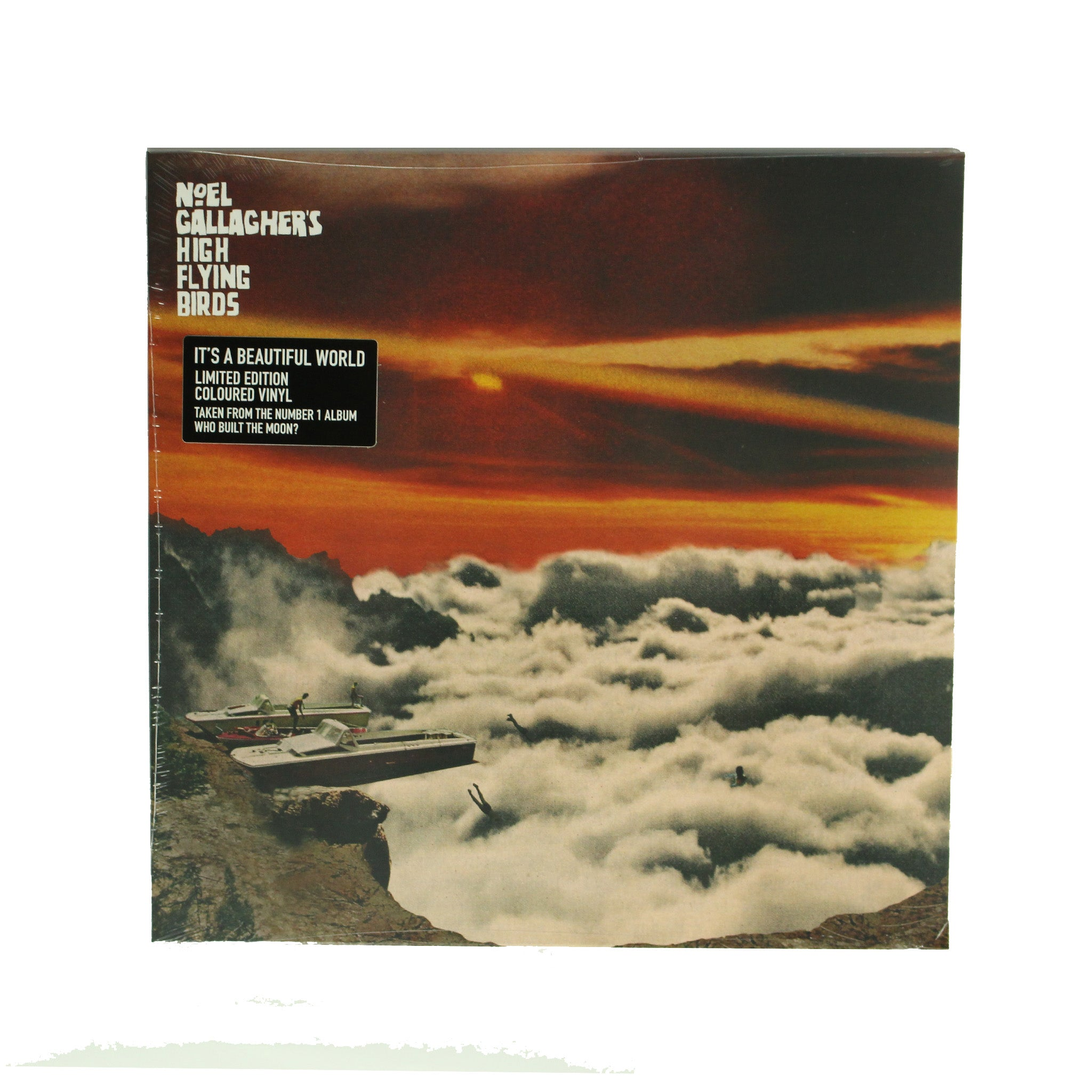 "Noel Gallagher's High Flying Birds ‎– It's A Beautiful World 12"" Colour Vinyl Record"