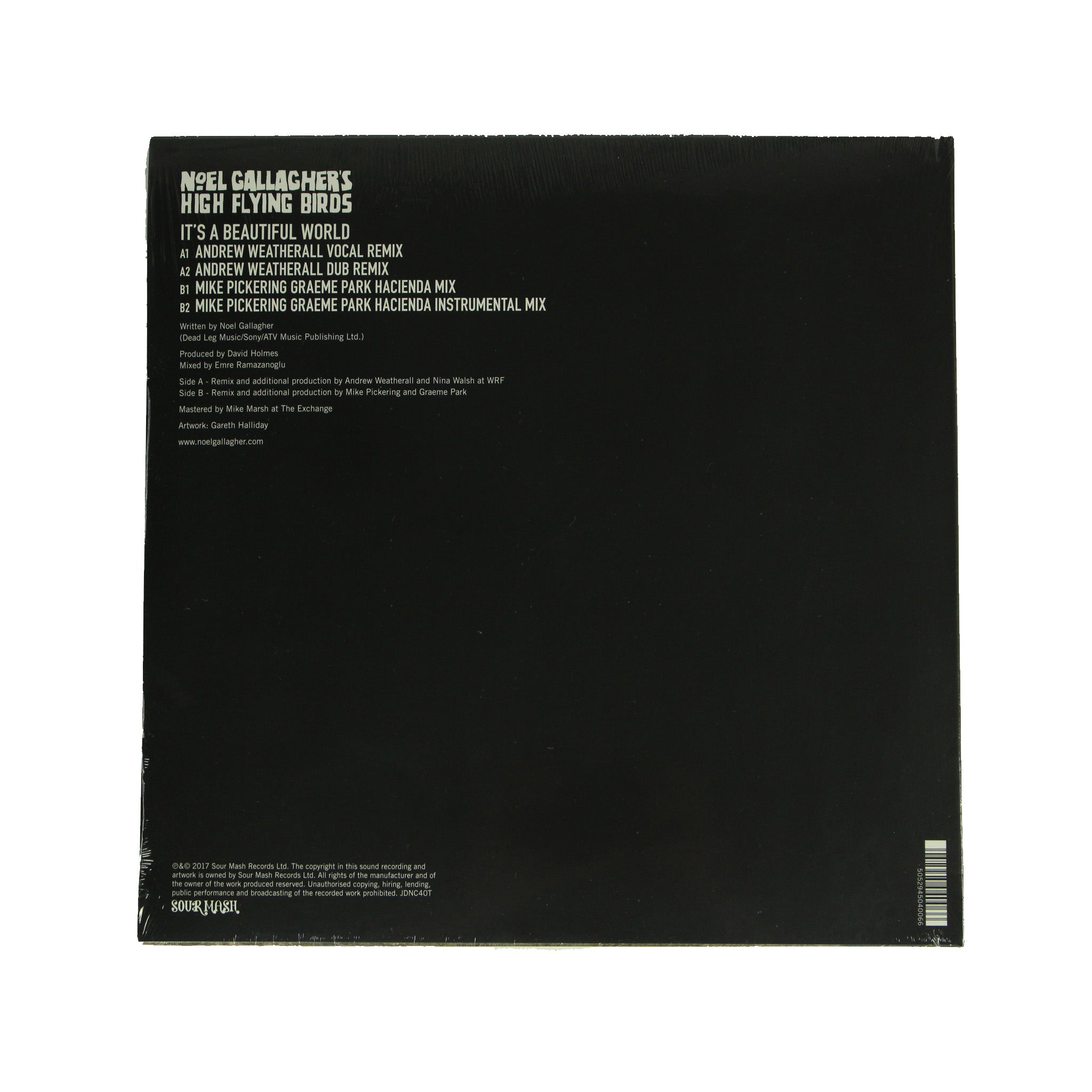 "Noel Gallagher's High Flying Birds ‎– Beautiful World Remixes 12"" Vinyl Record, Vinyl, X-Records"