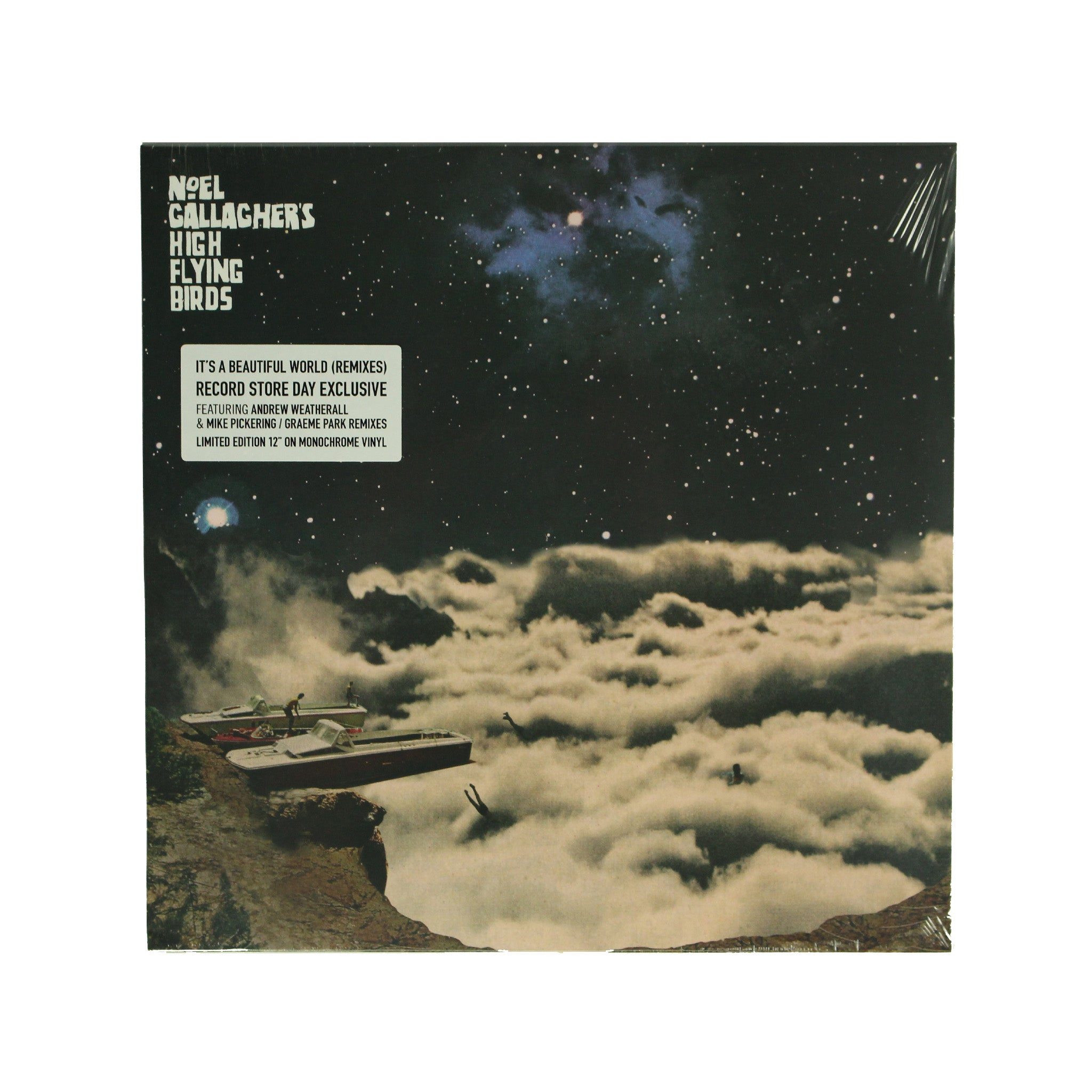 "Noel Gallagher's High Flying Birds ‎– Beautiful World Remixes 12"" Vinyl Record"