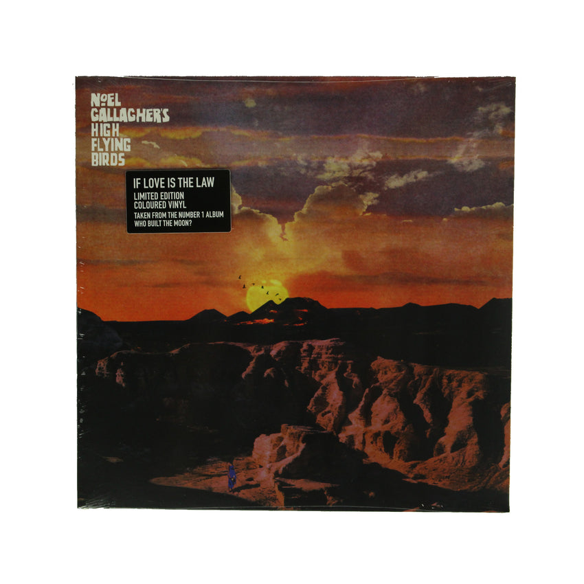 "Noel Gallagher's High Flying Birds ‎– If Love Is The Law 12"" Colour Vinyl Record"