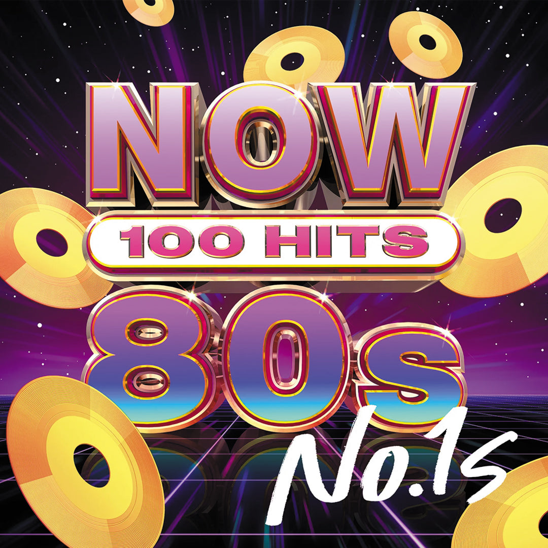 Various Artists	- NOW 100 Hits 80s No 1's! (National Album Day) 5xCD Album