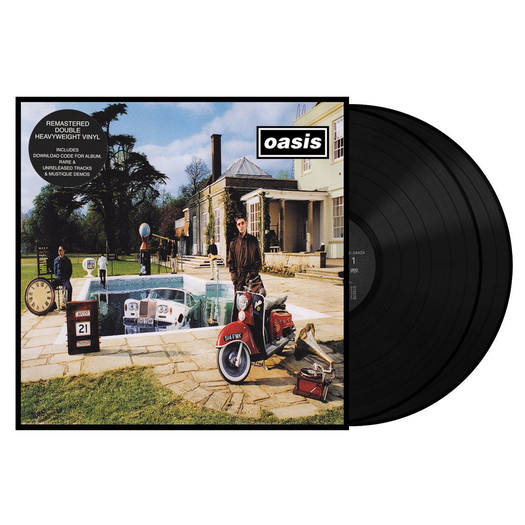Oasis ‎– Be Here Now 2LP 180g Vinyl Record Album