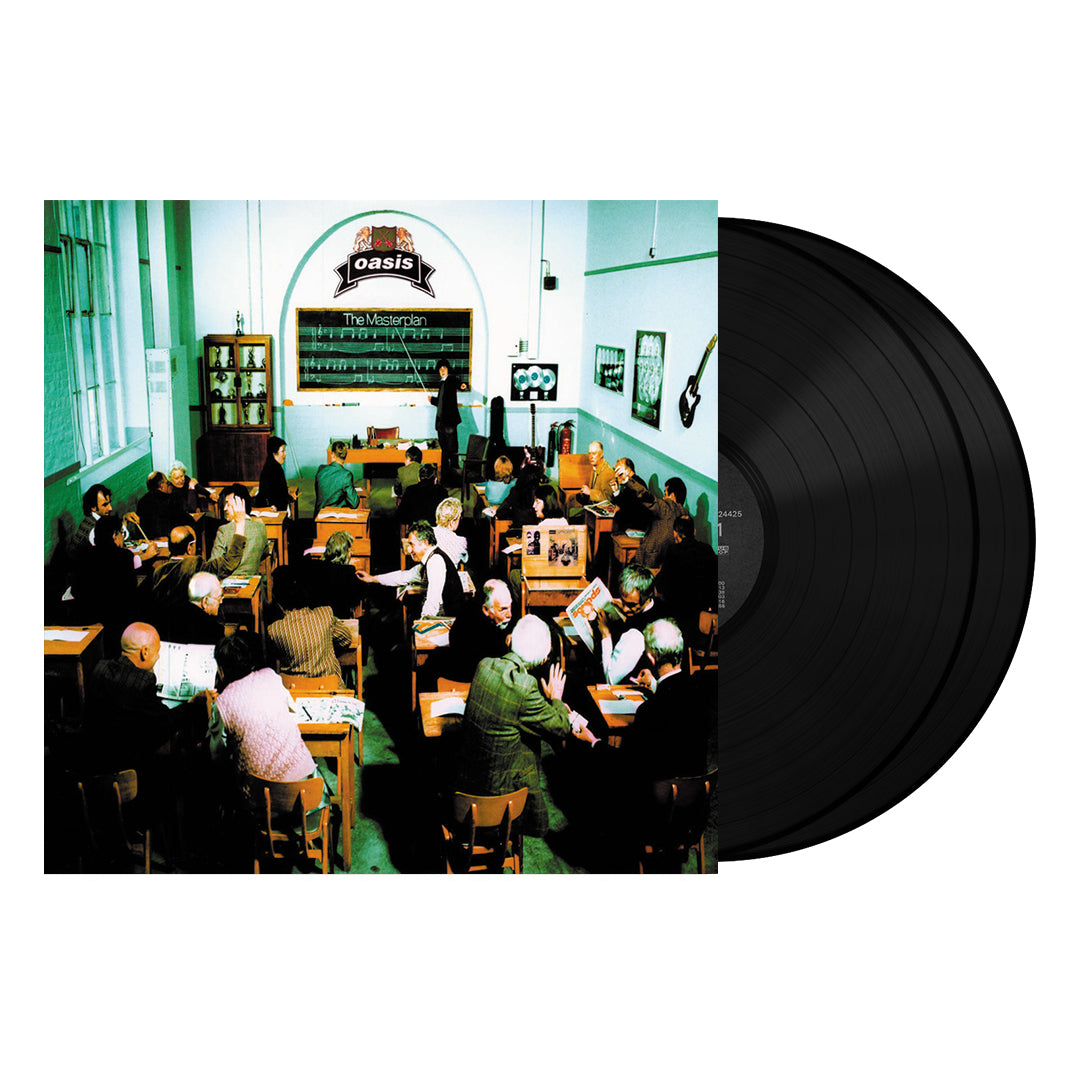 Oasis ‎– The Masterplan 2LP 180g Vinyl Record Album