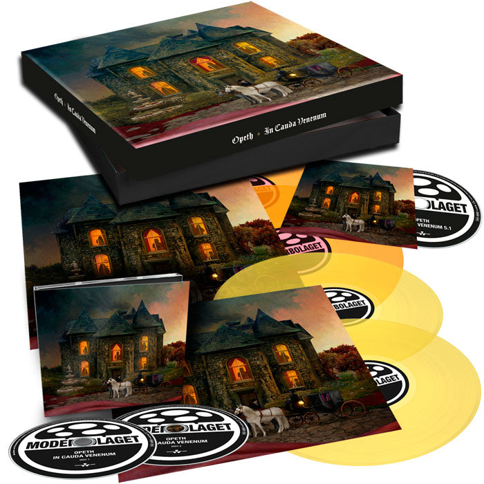 Opeth - In Cauda Venenum 2LP 2CD Deluxe Limited Edition Box Set, Vinyl, X-Records