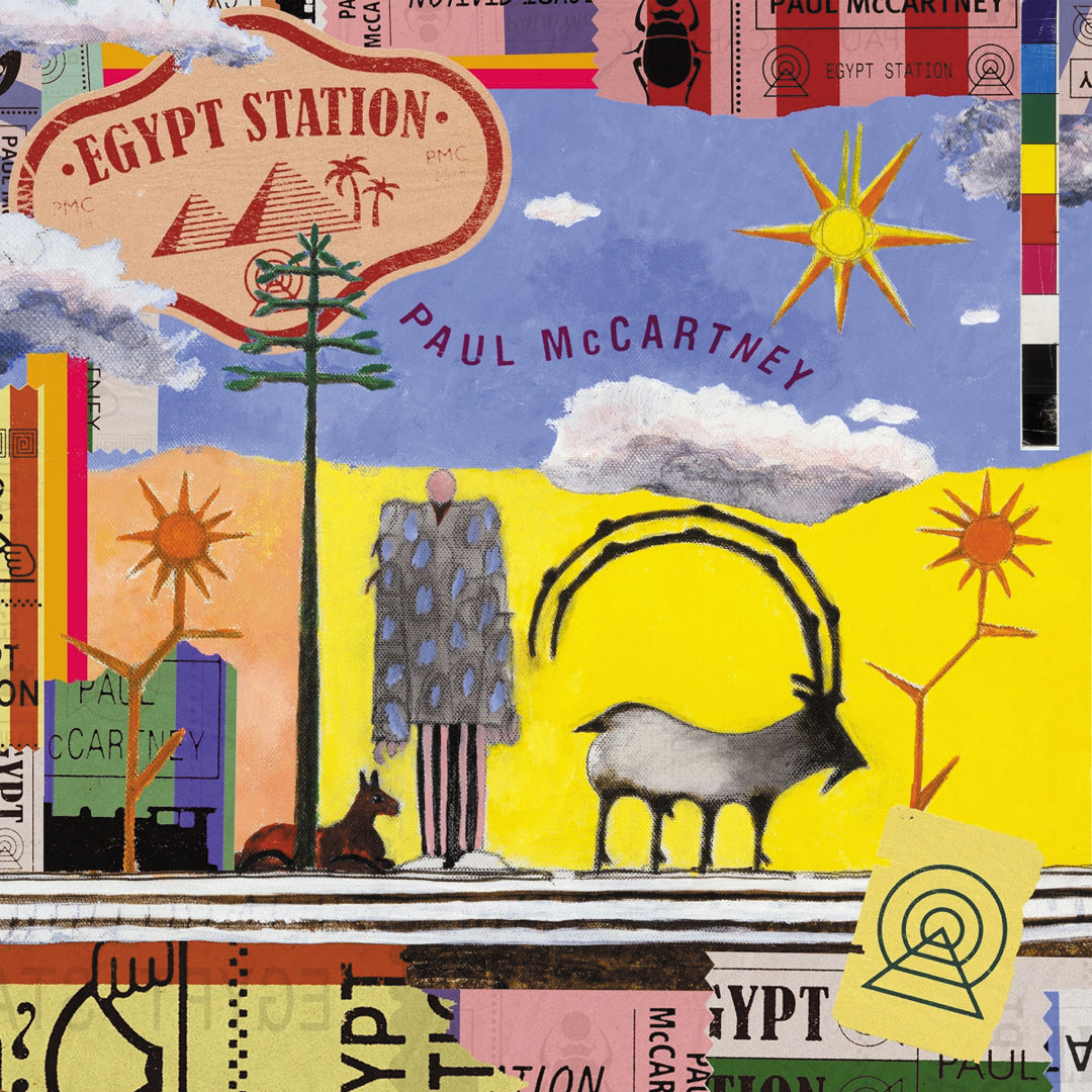 Paul McCartney ‎– Egypt Station 140g 2LP Vinyl Record Album