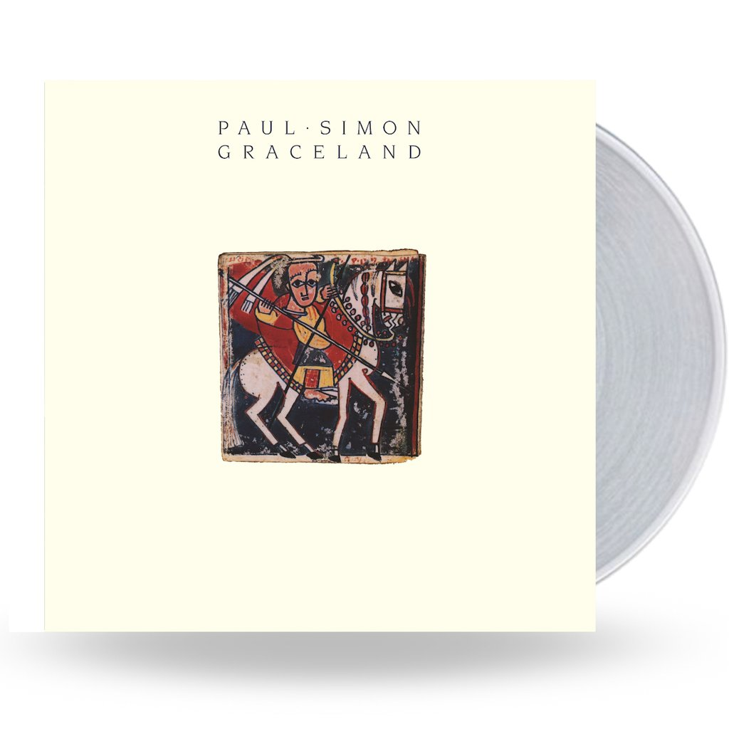 Paul Simon - Graceland (National Album Day) Clear Colour Vinyl Record Album