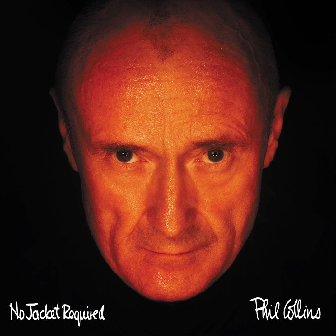 Phil Collins - No Jacket Required (National Album Day) Orange Colour Vinyl Record Album