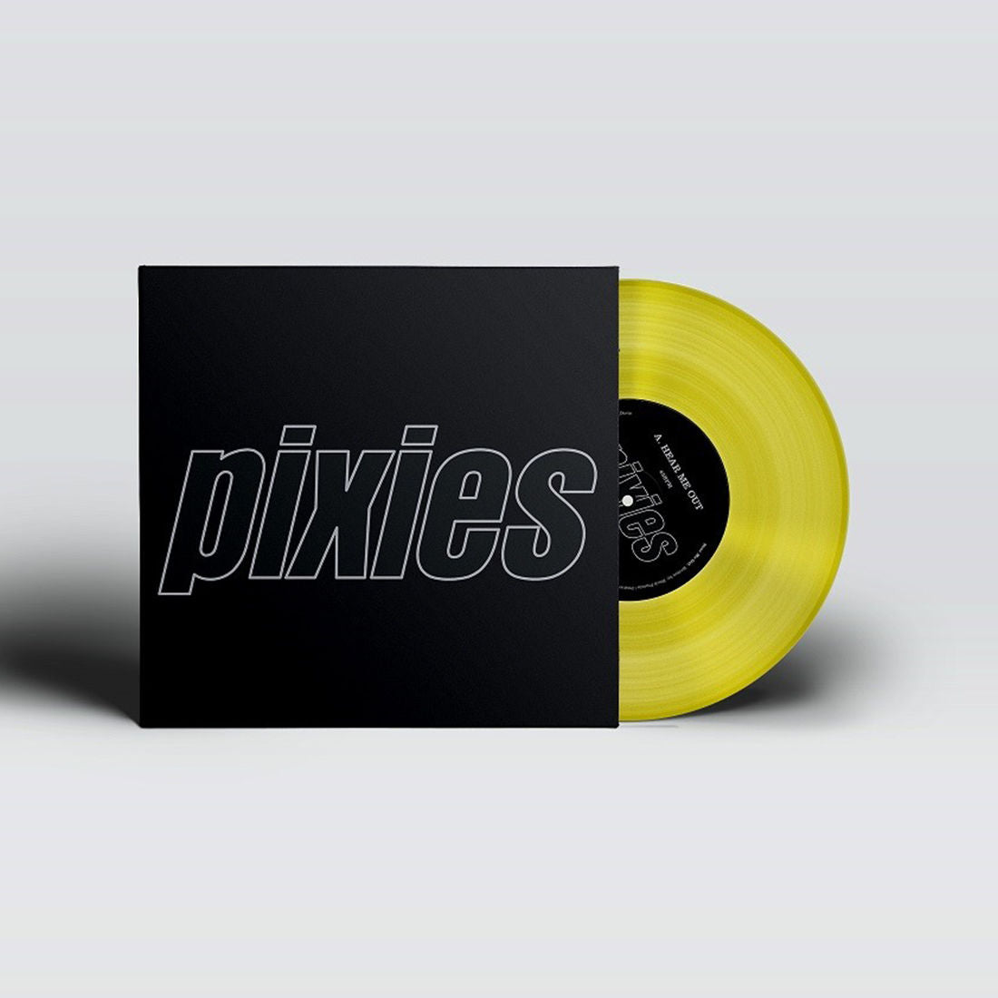 "Pixies - Hear Me Out / Mambo Sun Limited Edition Yellow Colour 12"" Vinyl Record"