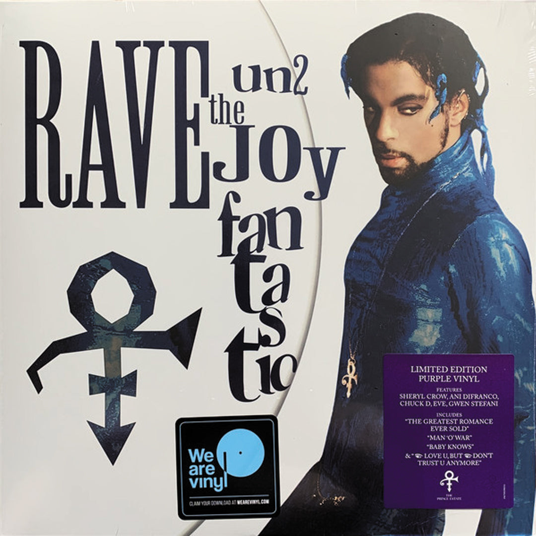 Prince ‎– Rave Un2 The Joy Fantastic 2LP Purple Colour Vinyl Record Album