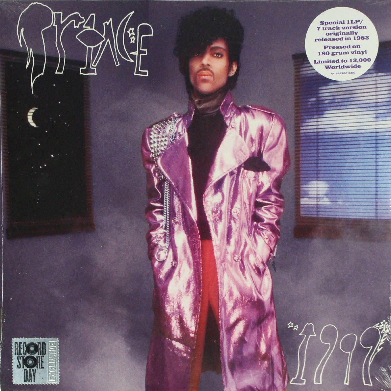 "Prince ‎– 1999 RSD Limited Edition 12"" Vinyl Record"