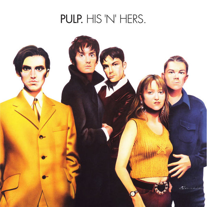 Pulp - His 'N' Hers Deluxe Edition 180g 2LP Vinyl Record Album, Vinyl, X-Records