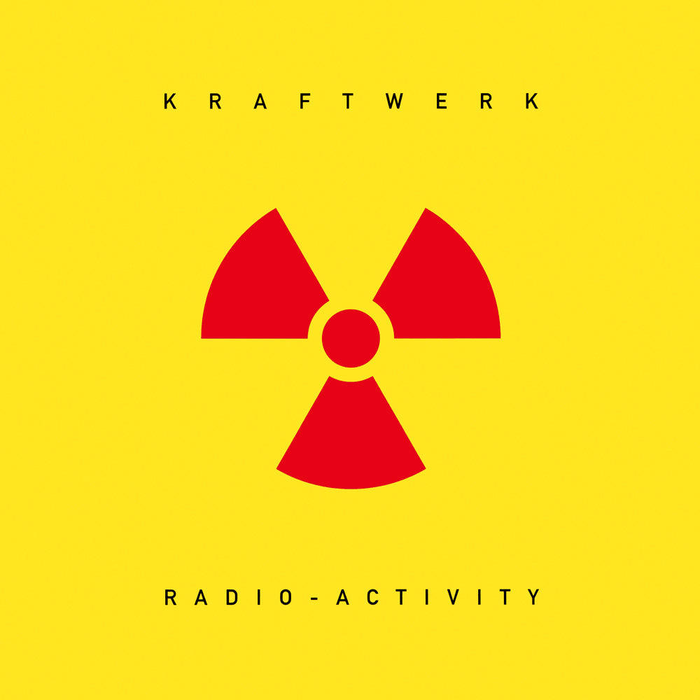 Kraftwerk - Radio-Activity Limited Edition Translucent Yellow Colour Vinyl Record Album