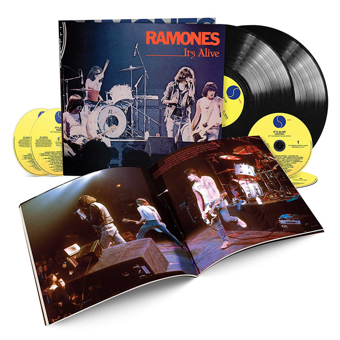 Ramones - It's Alive (40th Anniversary Deluxe Edition) 2LP 4CD Boxset, Vinyl, X-Records