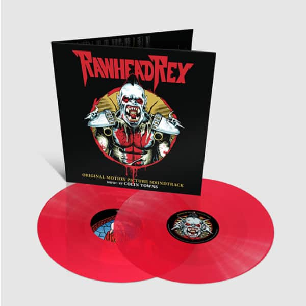 Colin Towns - Rawhead Rex Original Motion Picture Soundtrack 2LP Colour Vinyl Record Album