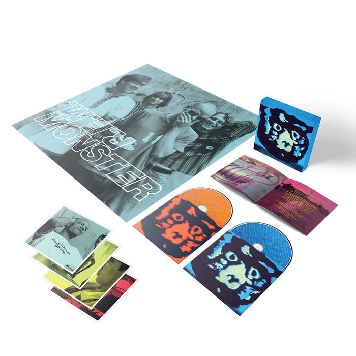 R.E.M. - Monster (25th Anniversary Edition) Deluxe Edition CD Blu-ray Boxset