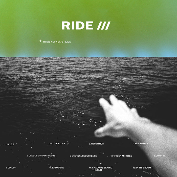 Ride ‎– This Is Not A Safe Place 2LP Transparent Green Colour Vinyl Record, Vinyl, X-Records