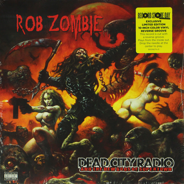 "Rob Zombie ‎– Dead City Radio And The New Gods Of Supertown 10"" Vinyl Record"