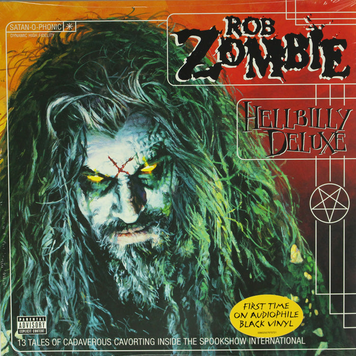 Rob Zombie ‎– Hellbilly Deluxe Gatefold Vinyl Record